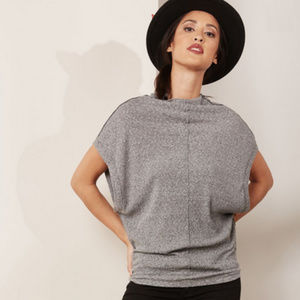 Free People 'We the Free' High Neck T-Shirt
